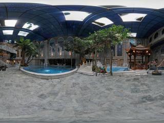 地下溫泉活動區全景