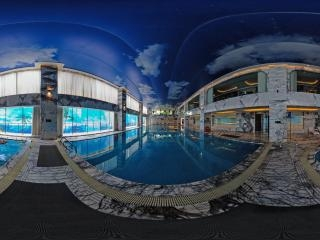康體游泳館全景